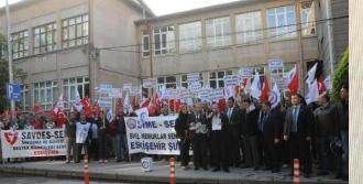 Tsk'da Çalışanları Bordrolarını Yaktı