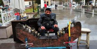 Hediye Ettiği Engelli Aracı Bağlandı