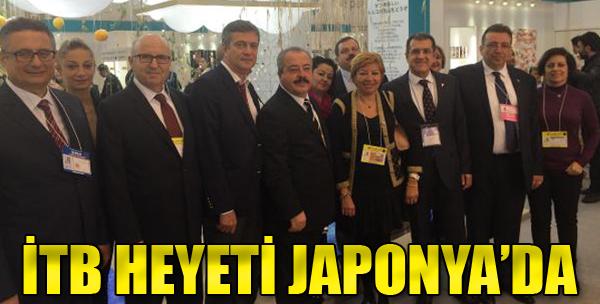 İzmir Ticaret Borsası Heyeti Japonya'da