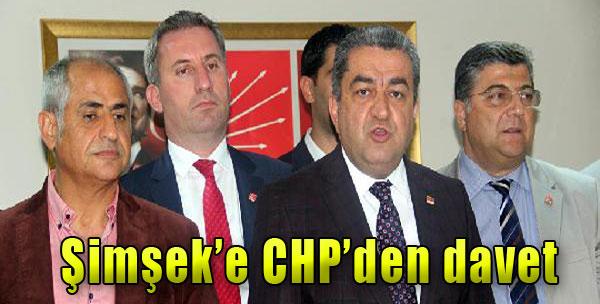 CHP'den Bakan Şimşek'e Gönderme