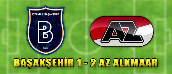 M. Başakşehir 1 - 2 Az Alkmaar