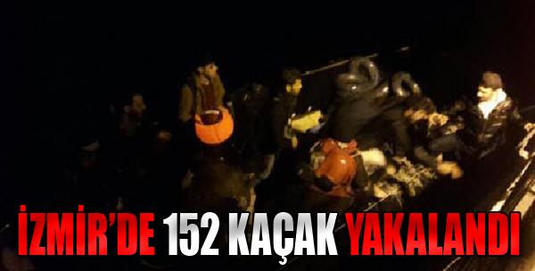 İzmir'de 152 Kaçak Yakalandı