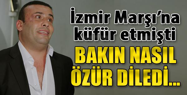 İzmir Marşı'na Küfür Etmişti... Özrü Kabahatinden Beter!