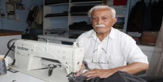 80 Yaşındaki Terzinin 'Çırak' Üzüntüsü