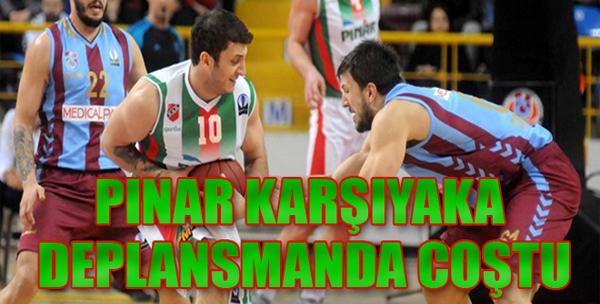 Trabzonspor Medical Park-Pınar Karşıyaka: 43-76