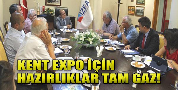 İZFAŞ Kent EXPO'ya Hazırlanıyor