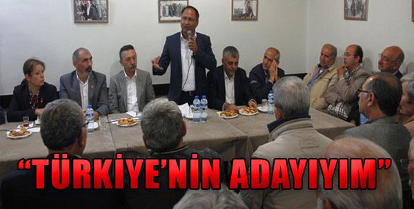 'Türkiye'nin Adayıyım'