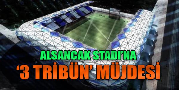 Alsancak Stadı'na '3 Tribün' Müjdesi