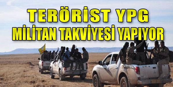 Teröristler Mevzilerini Güçlendiriyor