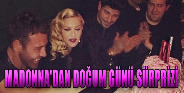Madonna'dan Doğum Günü Sürprizi