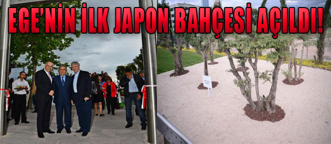 İzmir'e Japon Bahçesi!