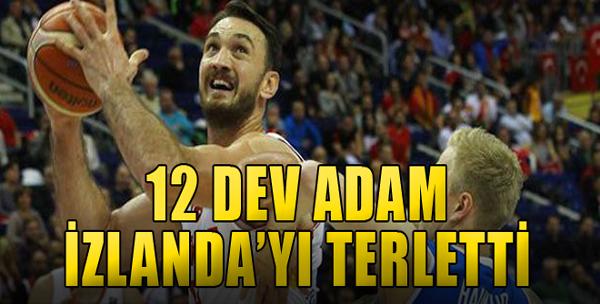 Türkiye: 111 - İzlanda: 102