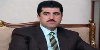 Neçirvan Barzani'den Sürece Destek