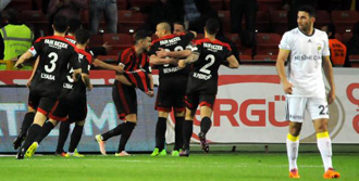 Gaziantepspor 1 - 1 Fenerbahçe