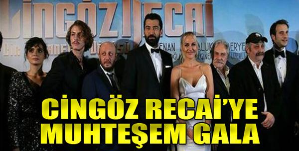 'Cingöz Recai'nin Galası Yapıldı