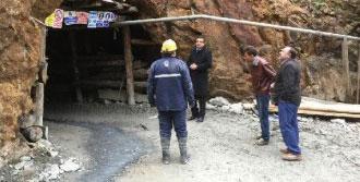 Göçükte 1 İşçinin Öldüğü Madende İnceleme