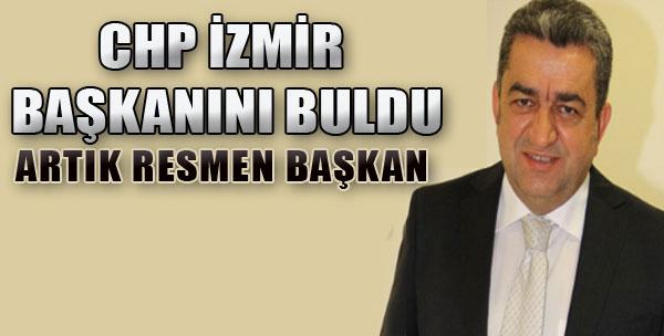 CHP İzmir Başkanını Buldu!