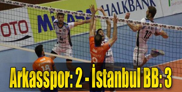 Arkasspor: 2-İstanbul B.B.3