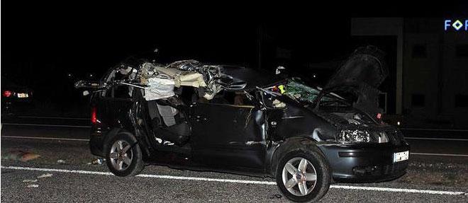 Trafik kazasında 11 aylık bebek öldü