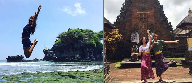 Sevgilisiyle Bali'de