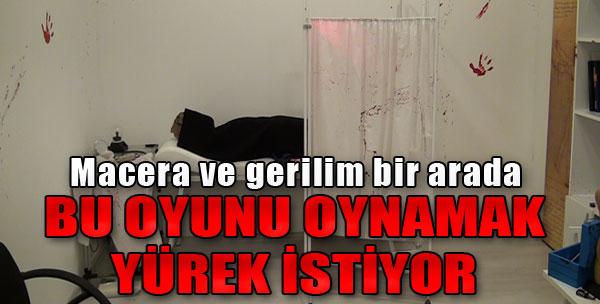 Yeni Kaçış Oyunları İzmirlileri Bekliyor