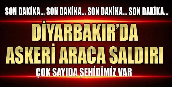Hainler Diyarbakır'da Saldırdı