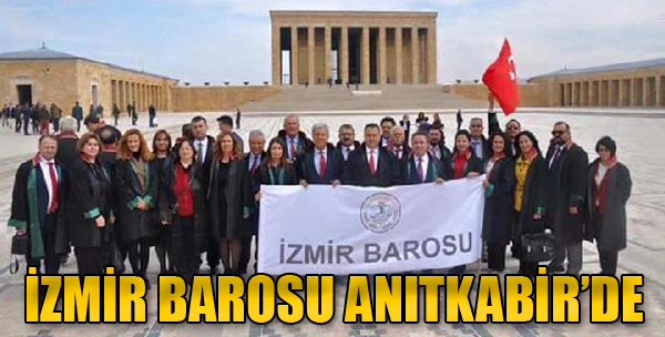 İzmir Barosu Anıtkabir'de