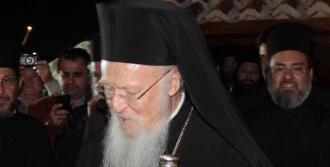 Bartholomeos Alanya'da Ayine Katıldı