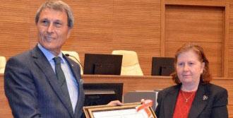 MHP'li Halaçoğlu Mazbatasını Aldı