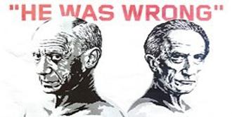 Picasso ile Duchamp Karşı Karşıya