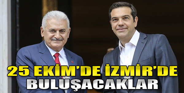 Türk Ve Yunan Başbakanları 25 Ekim'de İzmir'de