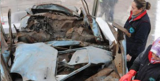 Mumcu'nun Otomobili Eskişehir'de Sergileniyor
