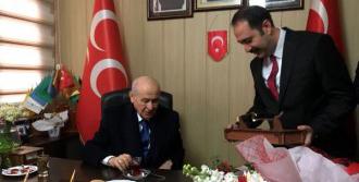 MHP Lideri Bahçeli Osmaniye'de