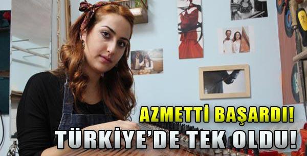 Türkiye'de Tek!