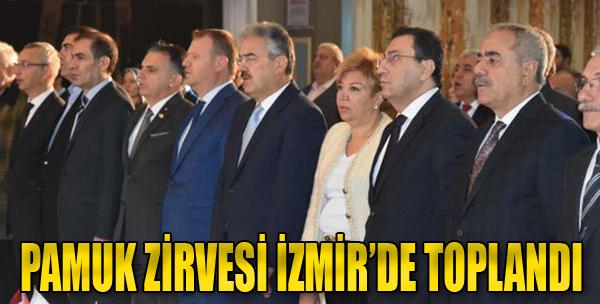 Pamuk Zirvesi İzmir'de Toplandı