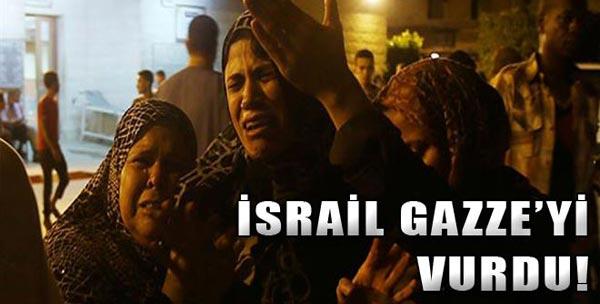 İsrail'den Hava Saldırısı!