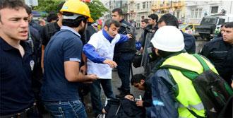 Polise 'Gezi' Doktorundan İlk Yardım