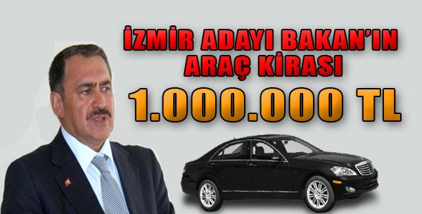 Bakan Eroğlu Araç Kirasıyla Gündemde