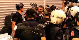 Polisten Salıcı'ya: Kes Lan