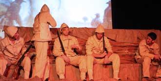 Çanakkale Şehitleri Bornova'da Anıldı