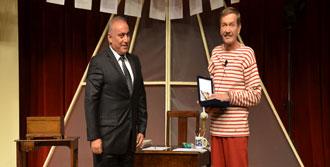 Şensoy'a Onur Ödülü Ali Talak'tan
