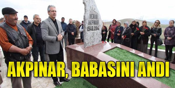 Başkan Akpınar, Babasının Mezarında...