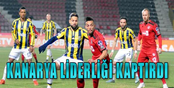 Gaziantepspor 2-2 Fenerbahçe
