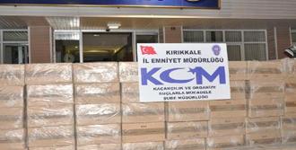 33 Bin Paket Kaçak Sigara Ele Geçirildi