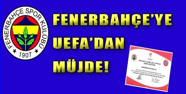 Kanarya'ya UEFA'dan Müjde!