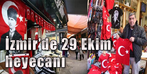 İzmir'de 29 Ekim Heyacanı
