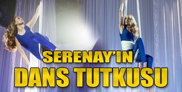 Serenay Sarıkaya'dan 'aerial' dansı