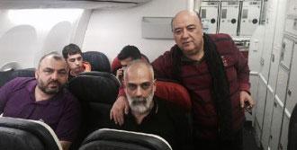 Bekletilen Yolcular İstanbul'a Dönüyor