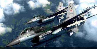 Kandil'de PKK 7 saat Bombalandı