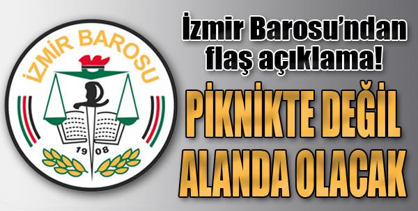 Başkan Özcan: 1 Mayıs'ta Alanlardayız